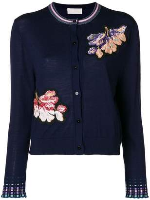 Peter Pilotto floral embroidered cardigan