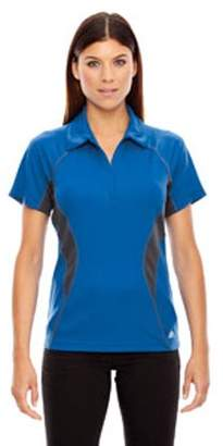 Ash City - North End Sport Red Ladies' Serac UTK cool?logik Performance Zippered Polo - OLYMPIC BLUE 447 - 2XL 78657