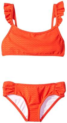 Billabong Kids Makin Shapes Flutter Set Girl's Swimwear Sets