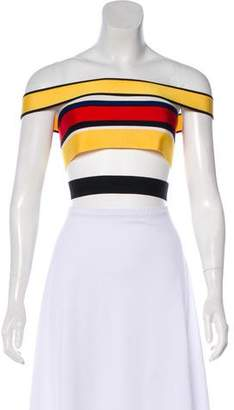 Balmain Bandage Crop Top