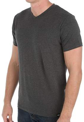 Saxx 3 SIX FIVE Short Sleeve V NECK T-SHIRT (, Heather Grey)