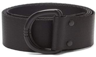 Y-3 Y 3 D Ring Buckle Belt - Mens - Black