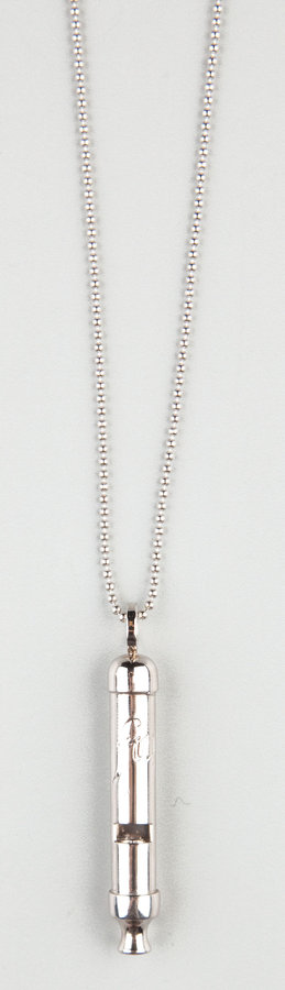 Falling Whistles Rebels Whistle Necklace