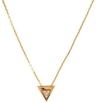 Miansai White Sapphire Faction Pendant Necklace
