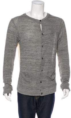 Robert Geller V-Neck Cardigan