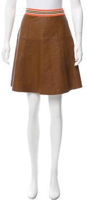 Tommy Hilfiger 2016 Leather Skirt w/ Tags