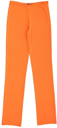 Gianni Versace Orange Cloth Trousers for Women