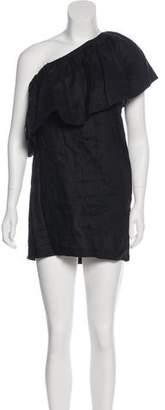Mara Hoffman Mini Linen Dress
