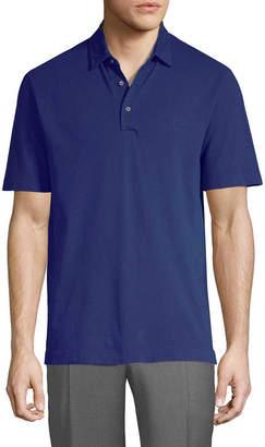 Canali Knit Polo Shirt