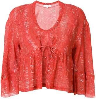 IRO deep U-neck blouse