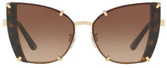 Dolce & Gabbana Angular Butterfly Sunglasses