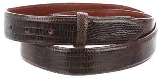 Polo Ralph Lauren Lizard Belt Strap