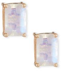 Suzanne Kalan KALAN by 14k Rose Gold Emerald-Cut Stud Earrings