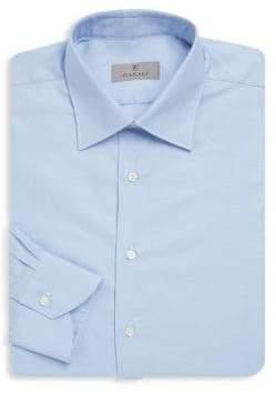 Canali Classic Buttoned Cotton Dress Shirt
