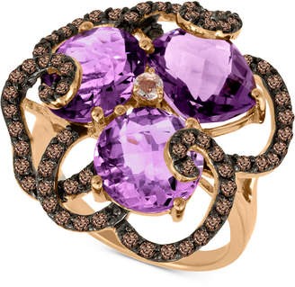 LeVian Le Vian Multi-Gemstone Statement Ring (7-1/2 ct. t.w.) in 14k Rose Gold