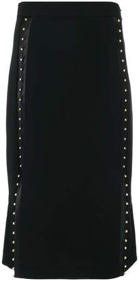 Altuzarra studded over-the-knee skirt