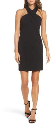 Eliza J Halter Sheath Dress