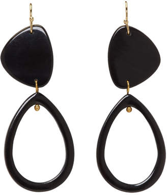Isabel Marant Black Spirit Earrings