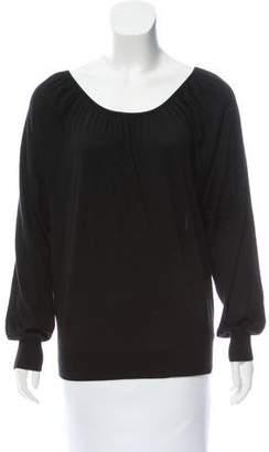 Michael Kors Scoop Neck Long Sleeve Sweater