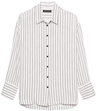 Banana Republic JAPAN ONLINE EXCLUSIVE Oversized Stripe Shirt