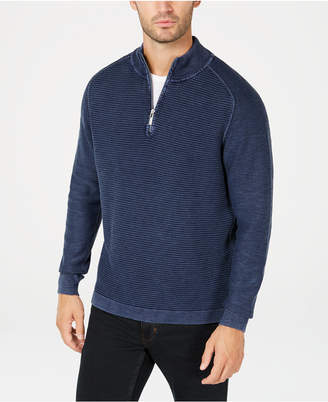 Tommy Bahama Men Island Tide Quarter-Zip Sweater