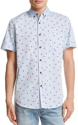 Sovereign Code Crystal Cove Lobster Button-Down Shirt