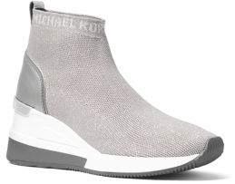 MICHAEL Michael Kors Skyler Metallic Knit Sneakers