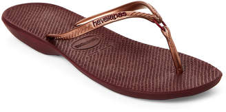 Havaianas Grape Wine Ring Flip Flops