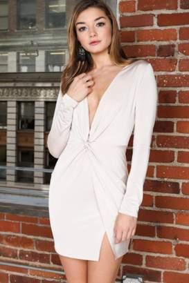 Timeless Wrap Front Dress