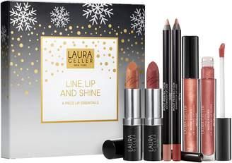Laura Geller Line, Lip & Shine 6-Piece Lip Essentials