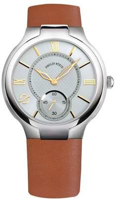 Philip Stein Teslar Men's Classic Round Quartz Watch, 40mm