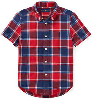 Ralph Lauren Cotton Madras Sport Shirt