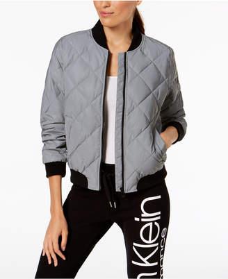 Calvin Klein Quilted Bomber Jacket