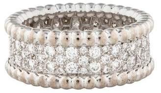Van Cleef & Arpels Diamond Perlée Ring