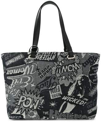 Hysteric Glamour pop art print shopper tote
