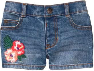 Crazy 8 Crazy8 Toddler Embroidered Denim Shorts