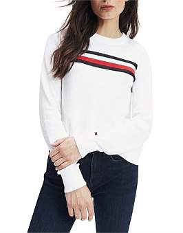 Tommy Hilfiger Essential Global Stripe Sweater