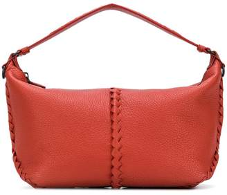 Bottega Veneta terracotta cervo medium shoulder bag