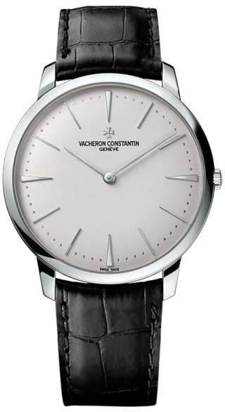 Vacheron Constantin 81180/000g-9117 Patrimony Grand Taille 18K White Gold 40mm Watch 2