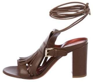 Santoni Kiltie Wraparound Sandals