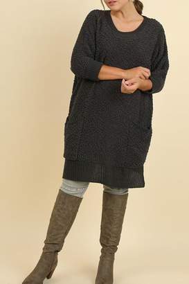 Umgee USA Cozy Bohemian Sweater