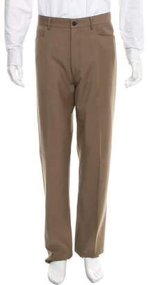 Lanvin Virgin Wool Straight-Leg Pants w/ Tags
