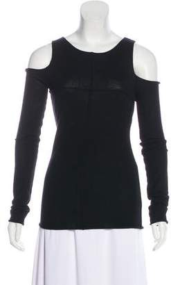 Bird by Juicy Couture Cashmere Cold Shoulder Sweater