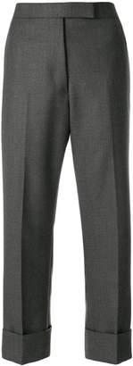 Thom Browne Menswear-rise Striped Wool Trouser