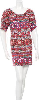 Jean Paul Gaultier Printed Mini Dress $100 thestylecure.com