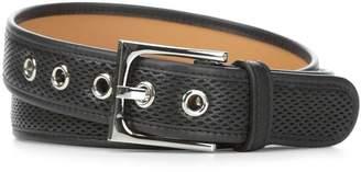 Donald J Pliner FRANNI, Perforated Nappa Leather Belt