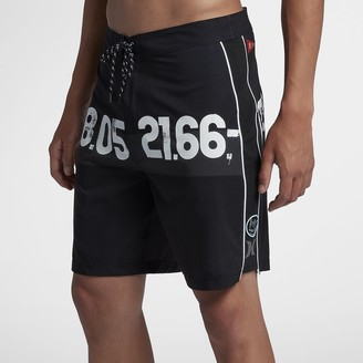 "Hurley JJF 4 Parallel Sea Men's 19"" Board Shorts"