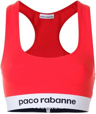 Paco Rabanne cropped vest top
