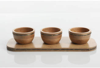 Gibson Pinehurst Condiment Bowl Set