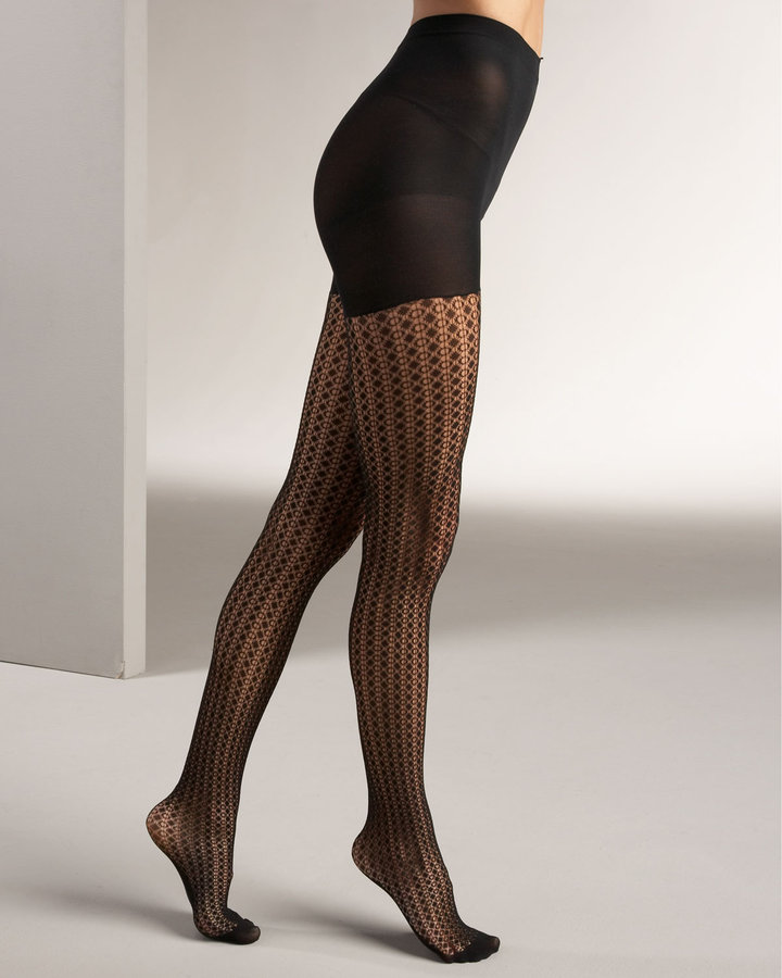 Spanx Tight-End Tights, Birdseye Pattern